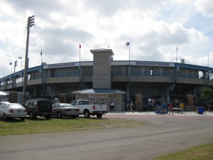 Dunedin Stadium outside view