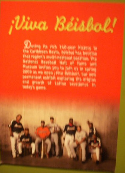 Latino Exhibit Unveiled at the HOF