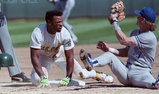 Rickey Henderson Kelly Gruber