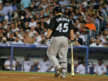 Travis Snider Can't Hit High Heat. Is it Time to Send Him Down?