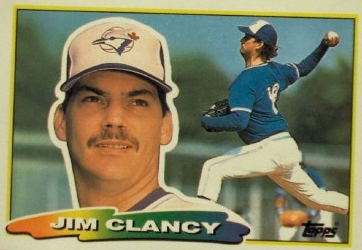 Jim Clancy's Near Perfect Game