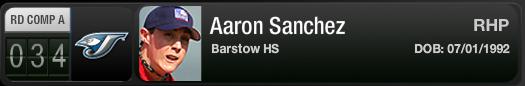Jays 1st Round Supp Picks: Aaron Sanchez, Noah Syndergaard & Asher Wojciechowski