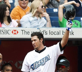 JP Arencibia Receives Johnny Bench Comp