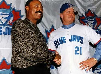 Roger Clemens as a Blue Jay