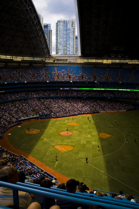 Skydome Rogers Centre Review Mop Up Duty
