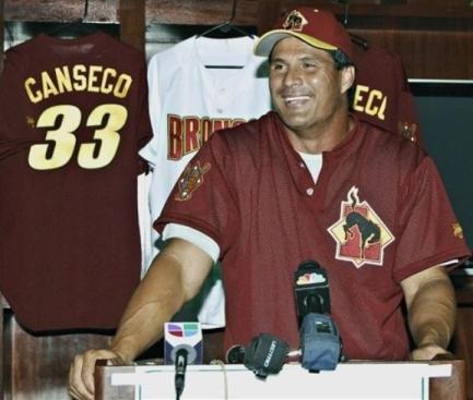 Jose Canseco's Comeback