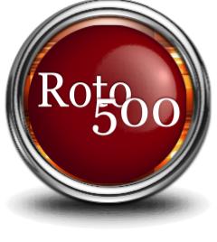 Roto 500 Fantasy Baseball Draft