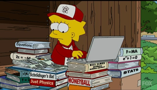 Simpsons Sabermetrics